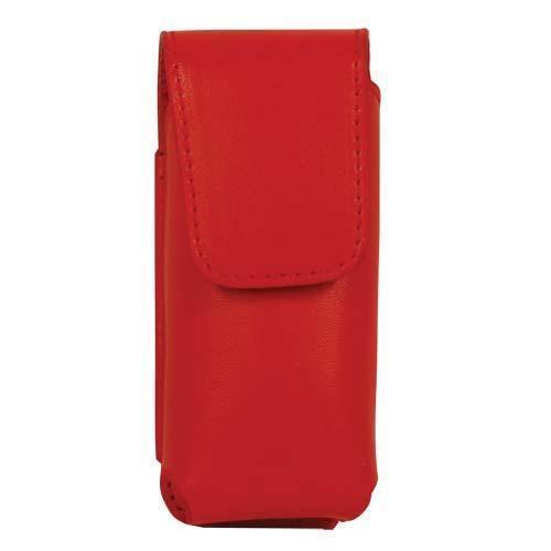 Red Leatherette Holster for RUNT Stun Gun