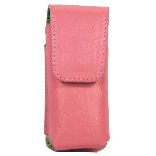 Pink Leatherette Holster for RUNT Stun Gun