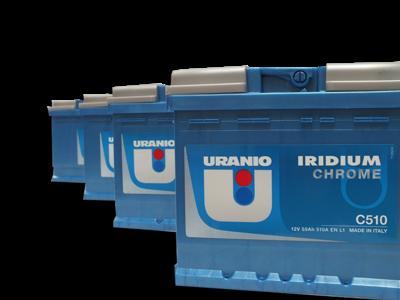 Batteria Uranio 82Ah