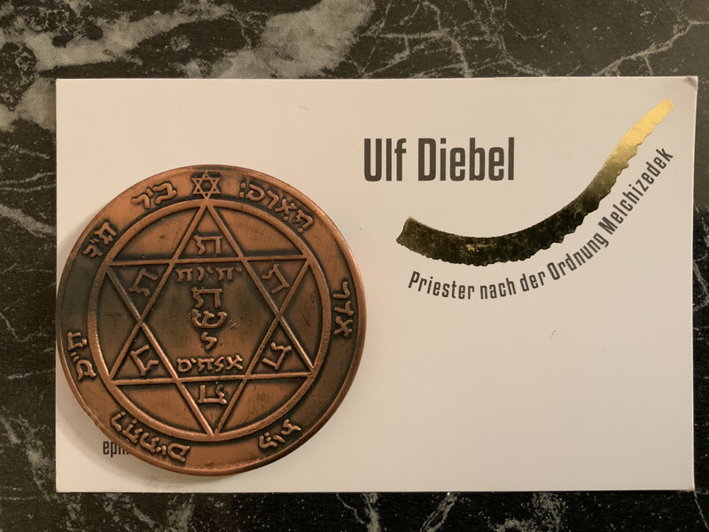 Kabbalah Medaille