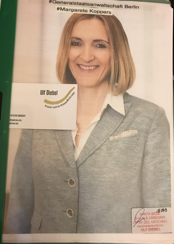 Generalstaatsanwältin in Berlin Margarete Koppers