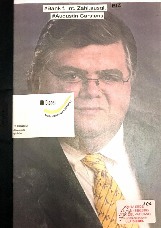 Bank für Internationalen Zahlungsausgleich Augustin Carstens
