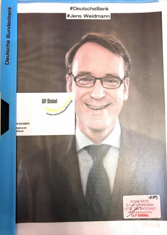 Deutsche Bank Jens Weidmann