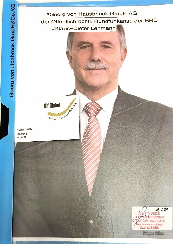 Georg von Holtzbrinck GmbH & Co KG Klaus-Dieter Lehmann