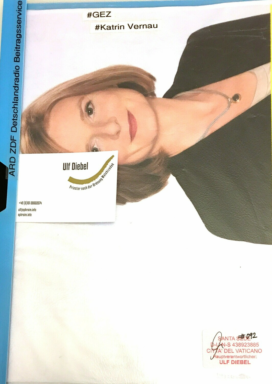 ARD ZDF Deutschlandradio Beitragsservice l GEZ Katrin Vernau