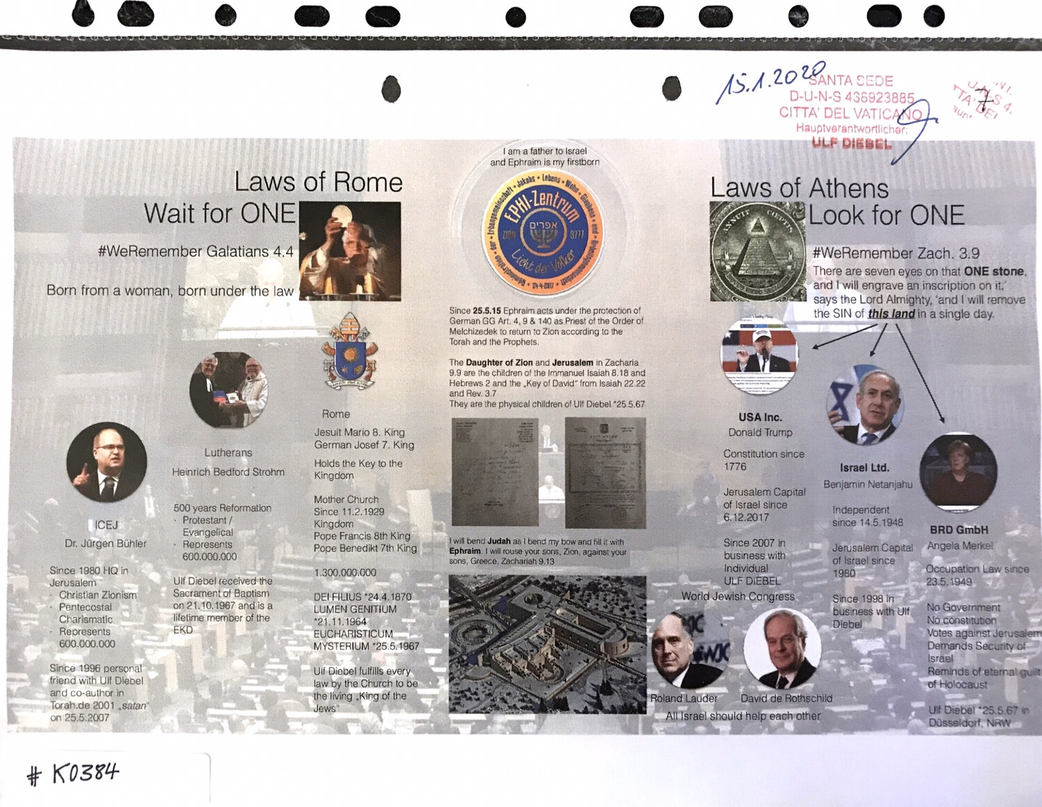 #K0384 l Laws of Rome - Wait for One l  Laws of Athens - Look for One