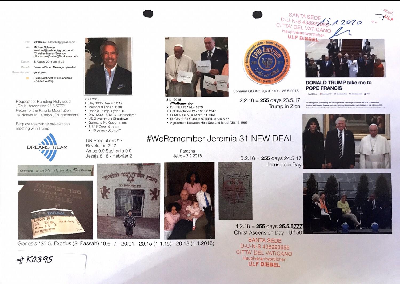 #K0395 l #WeRemember - Jeremia 31 #NewDeal