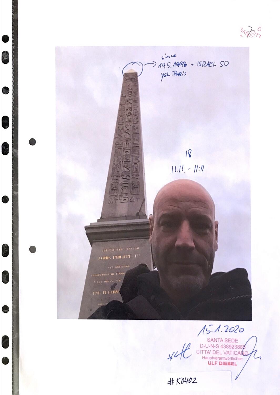 #K0402 l 11.11.2018 l Josef Obelisk Paris