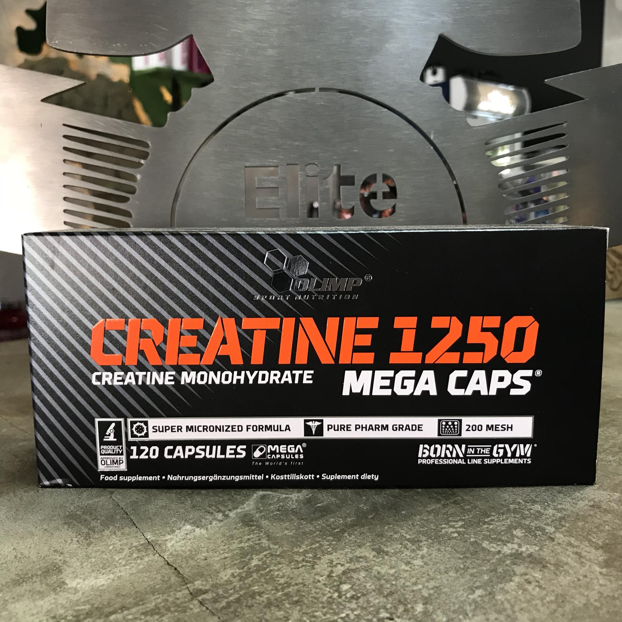 Creatine 1250 Mega Caps    jetzt minus 40%!!! 00025