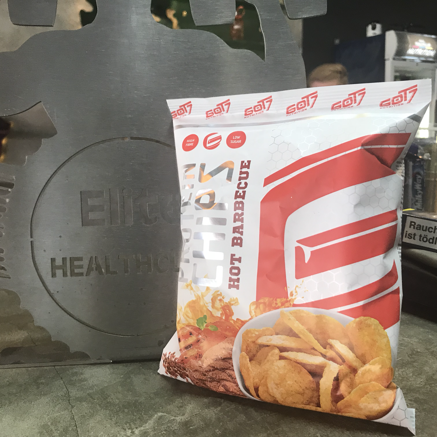 Protein Chips Hot Barbecue