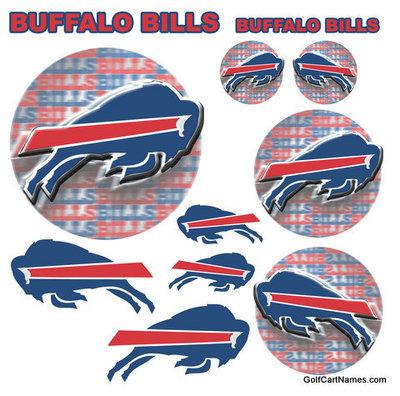 Golf Cart Decals NFL (Buffalo Bills) Golfcartnames Com on