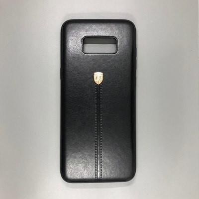 Samsung S8 Unimor Кожа (Черный)