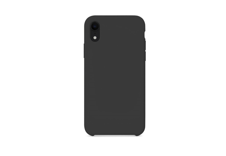 iPhone XR силикон (Черный)