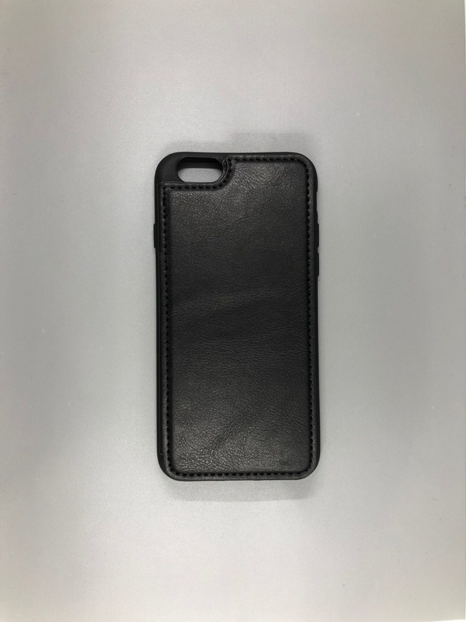 iPhone 7 Leather Black + Визитница