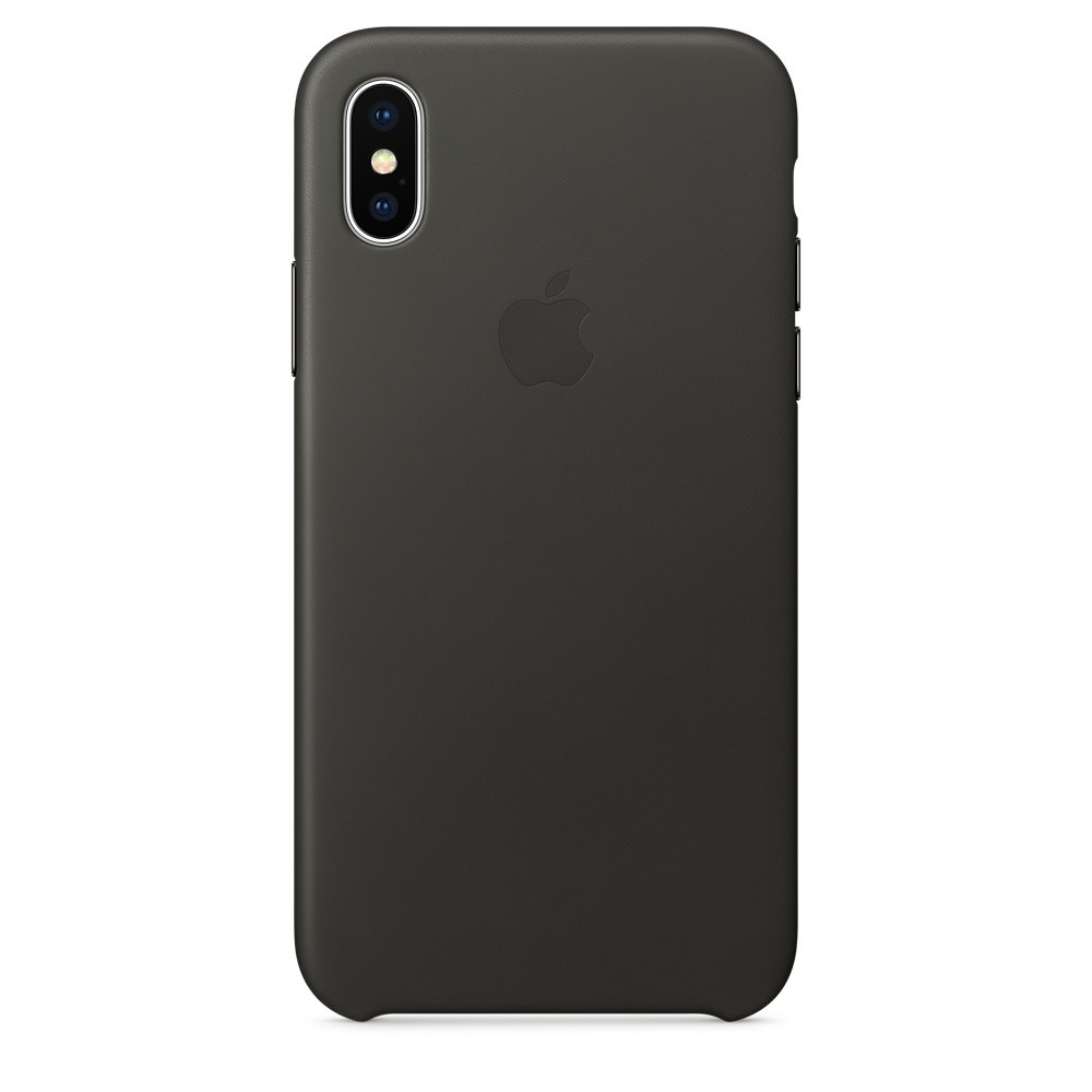 iPhone X Leather Case (Черный)