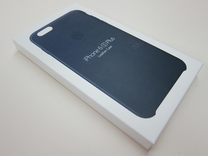 iPhone 6 Plus | 6S Plus Leather Case (Черный)