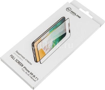 iPhone XR 3D Glass RedLine FullGlue Черное
