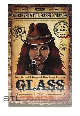 iPhone XR 3D Glass Remax Черное