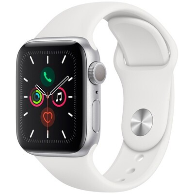 Apple Watch S5 44mm Silver Sport Band