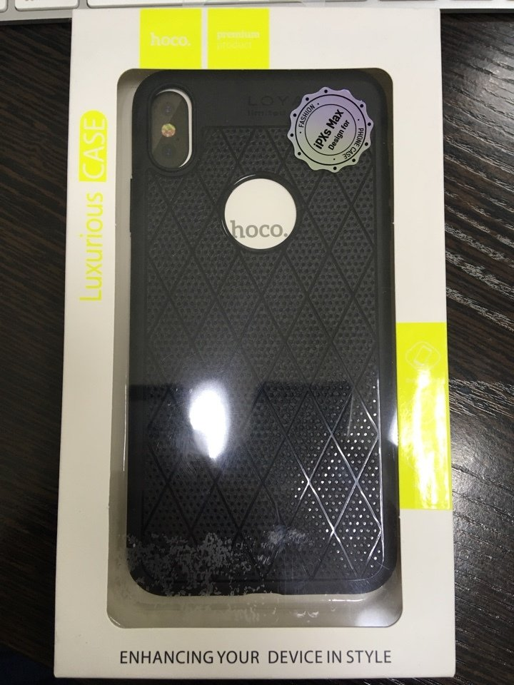 iPhone XS Max Hoco Lux Case
