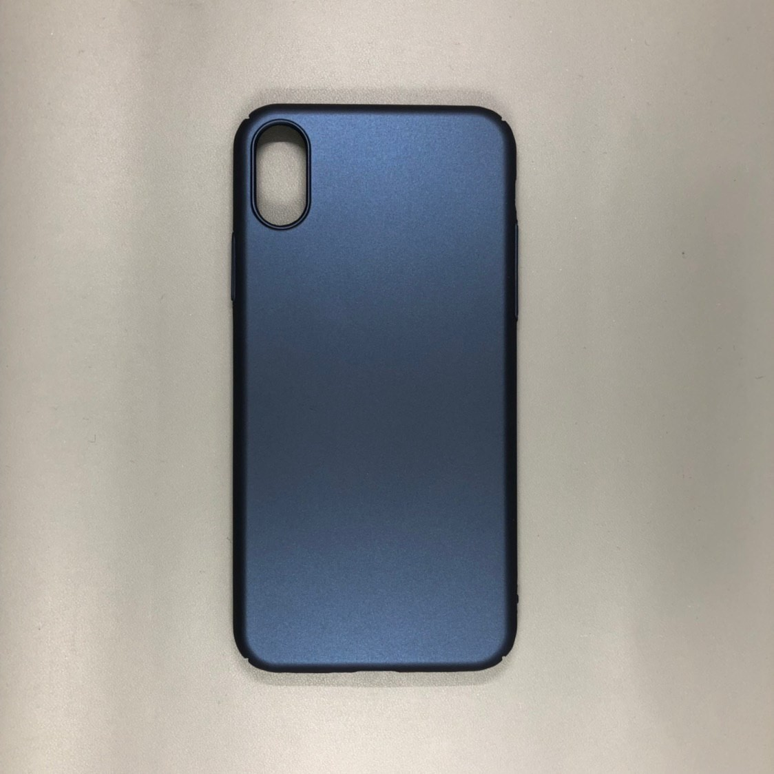 iPhone X Blue TPU