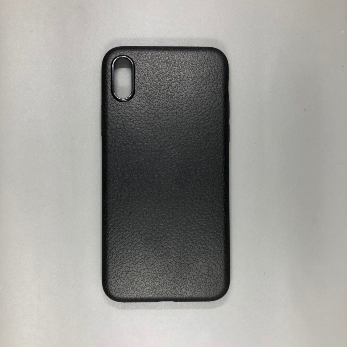 iPhone X Plastic Black
