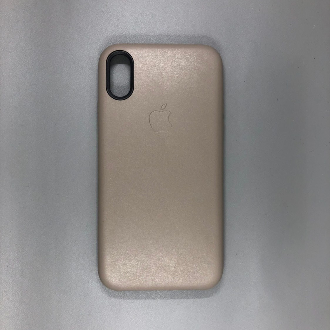 iPhone X Leather Case Brown