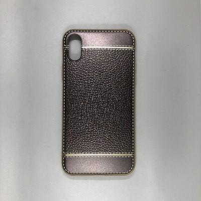 iPhone X Plastic Gold/Gray
