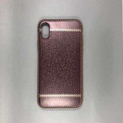 iPhone X Plastic Gold/Violet