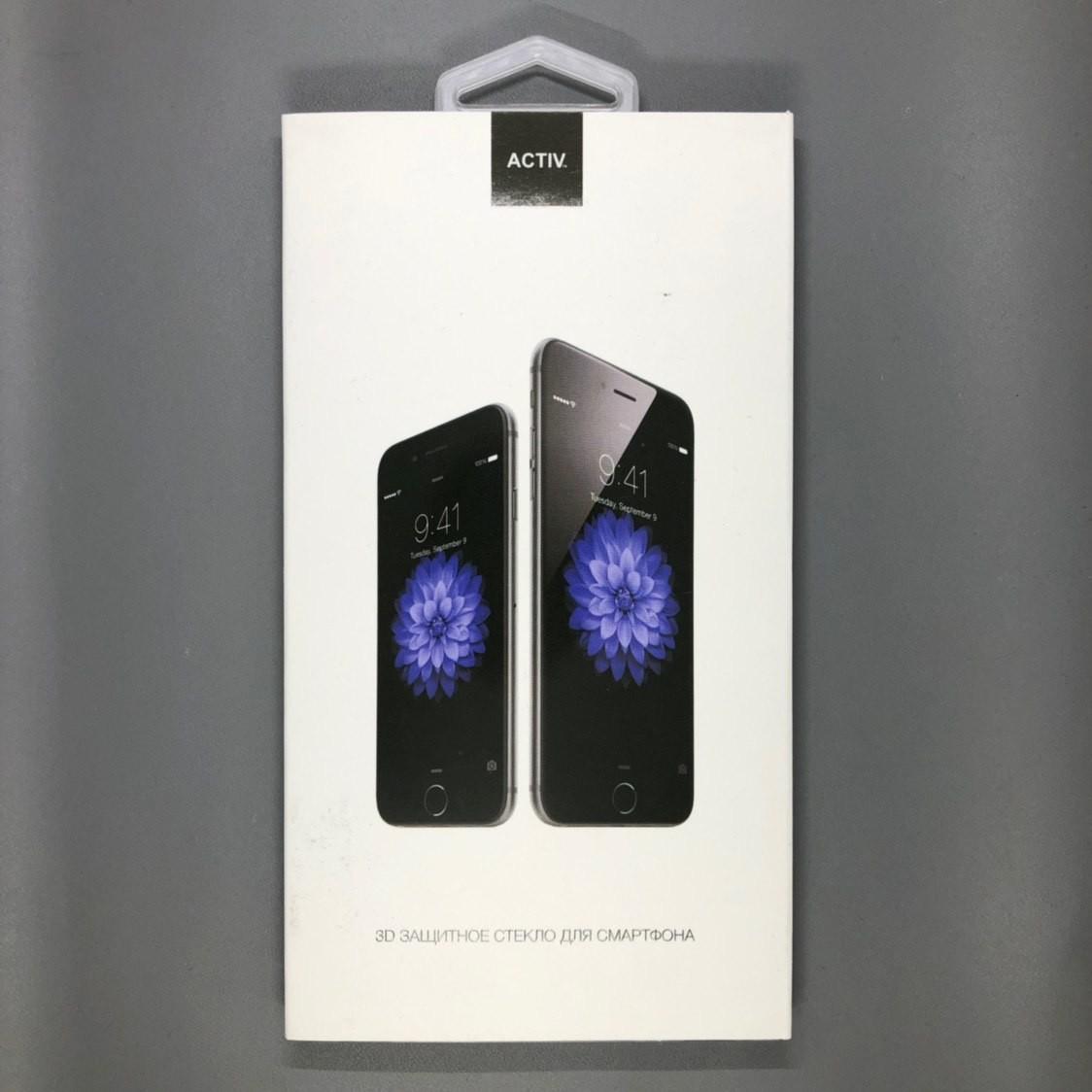 iPhone XR 3D Glass Черное