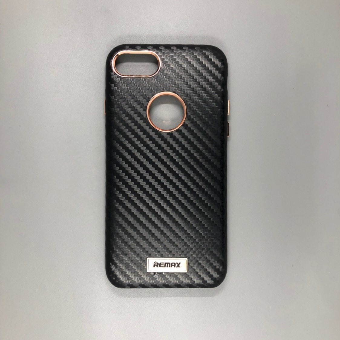 iPhone 7 Plastic Remax Carbon