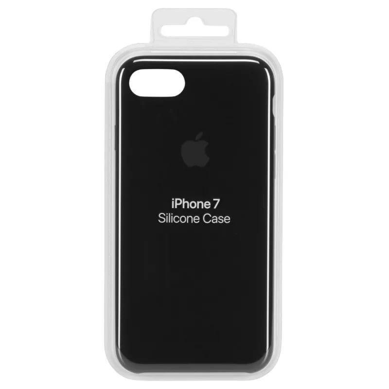 iPhone 7 / 8 Silicone Case (Черный)