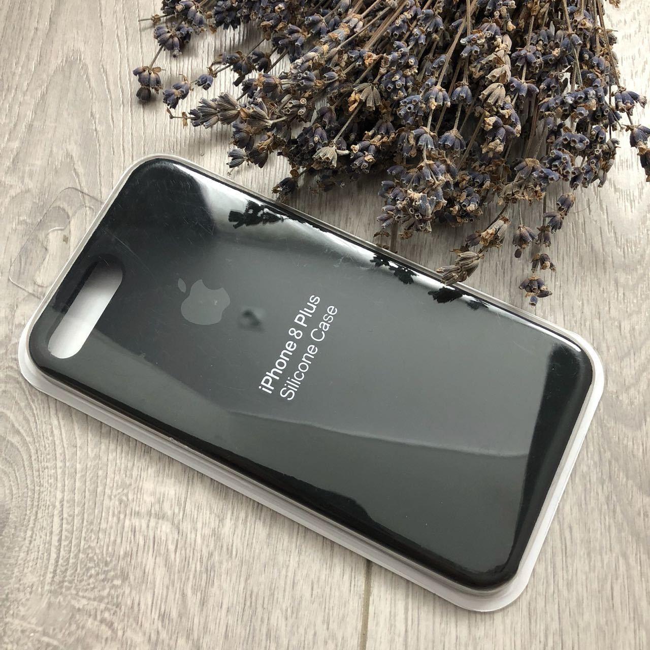 iPhone 7 Plus / 8 Plus Silicone Case (Темно Серый)