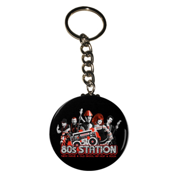 80's Station Key Chains