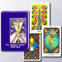 Crowley Aleister: Thoth Tarot Cards Pocket Edition