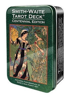Colman Smith Pamela: Smith-Waite Tarot Deck (Tin box)