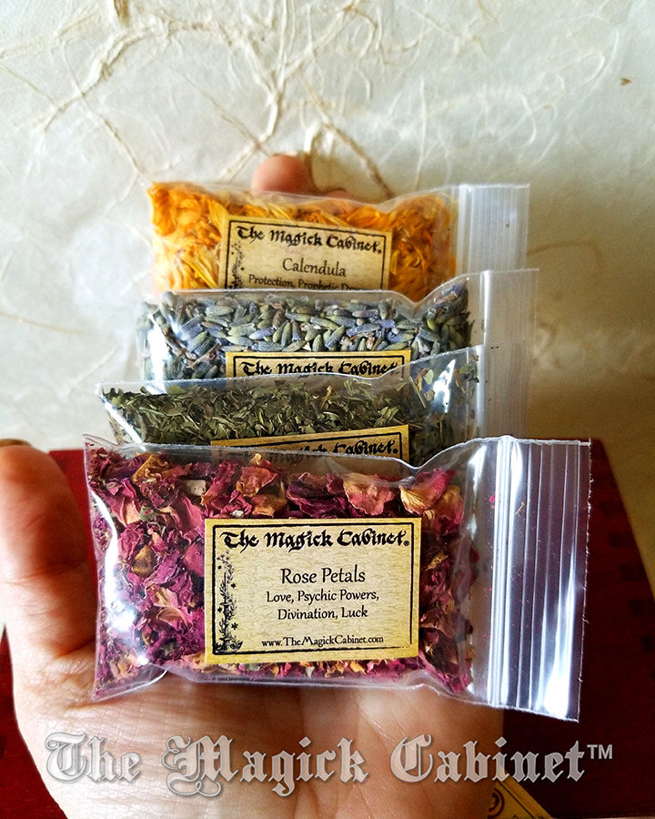 Beginner Witch Herb Kit, Witchcraft and Wicca Supplies, Witch Herbs for  Spells
