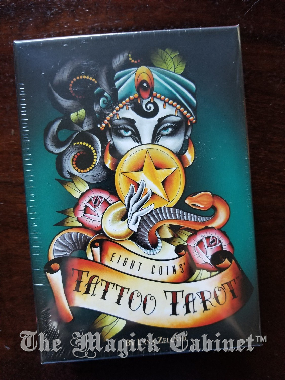 Eight Coins Tattoo Tarot Deck