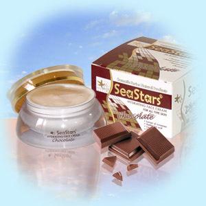 Увлажняющий дневной крем для лица Шоколад SeaStars Природная косметика 40 ml