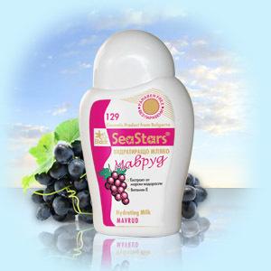Увлажняющее молочко для лица и тела Виноград SeaStars Природная косметика 200 ml
