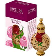 Розовое масло (упаковано в деревянную бутылочку) Реджина Флорис 1,2 ml