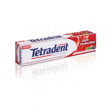 Зубная паста Tetradent Gum Protection Защита десен Лавена 75 ml