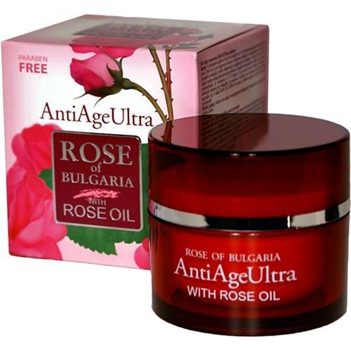 Крем для лица с розовым маслом AntiAge Ultra Роза Болгарии 50 ml