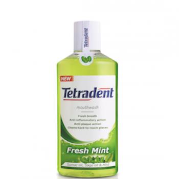 Жидкость для ополаскивания рта Fresh Mint Tetradent Лавена 250 ml