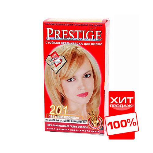 Крем-краска для волос Светлый блондин  Vip's Prestige Роза Импекс 100 ml