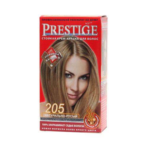 Крем-краска для волос Натурально- русый Prestige Vip's Роза Импекс 100 ml
