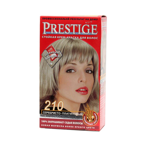 Крем-краска для волос Серебристо- платиновый Prestige Vip's Роза Импекс 100 ml