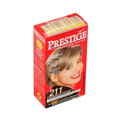 Крем-краска для волос Пепельно- русый Prestige Vip's Роза Импекс 100 ml