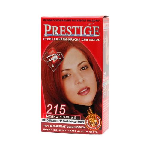 Крем-краска для волос Медно- красный Prestige Vip's Роза Импекс 100 ml