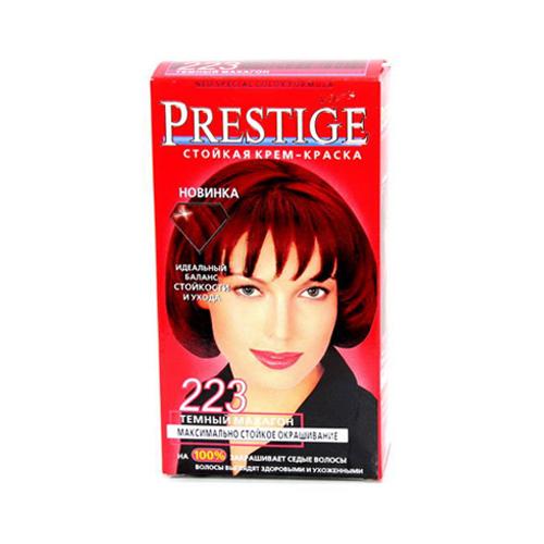 Крем-краска для волос Темный махагон Prestige Vip's Роза Импекс 100 ml